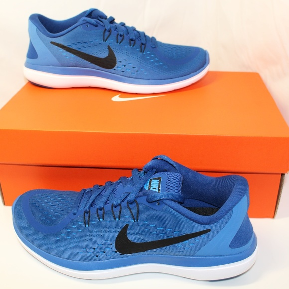 bd5332b85b86 Women s Nike Flex RN Running Shoes 2017 6.5 BLUE